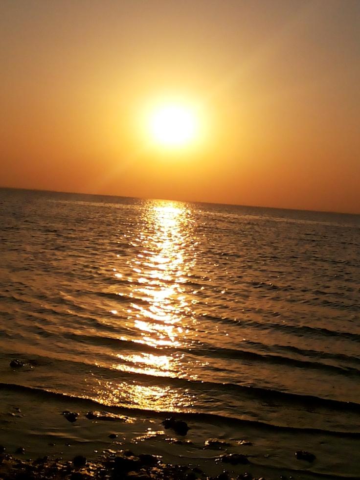 Sunset @ Half moon